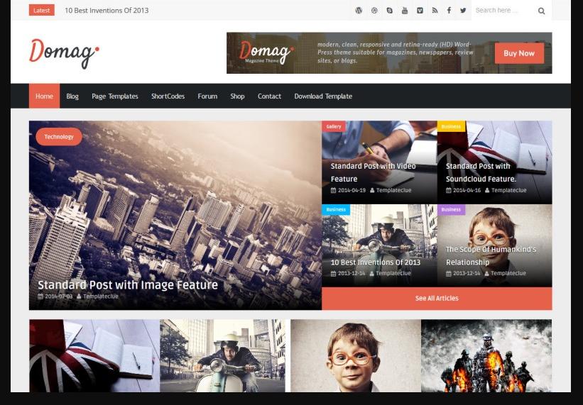 domag genel blog blogger teması ücretsiz indir 2021